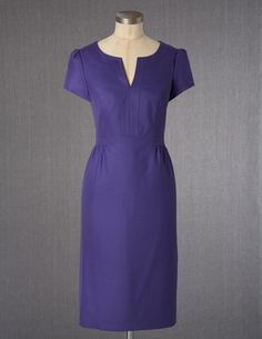I've spotted this @BodenClothing Wool Tulip Dress Bright Purple