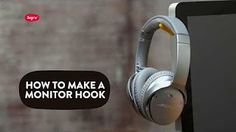 Use Sugru to make a hook, to keep your headphones neatly tucked away behind your monitor.