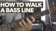 Rocking the new Ernie Ball Musicman Stingray to showcase an absolute beginner's intro walking a bass guitar line. It's all about connecting chords with quart. Bass Guitar Notes, Bass Guitar Chords, Learn Bass Guitar, Guitar Kits, Guitar Scales, Music Guitar, Playing Guitar, Bass Guitars, Free Guitar Lessons