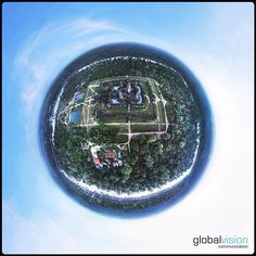 Wat, Cambodia seen through the eye of our Little Planet, Aerial Images, Crazy Things, Angkor Wat, Southeast Asia, Cambodia, Eye, Travel, Instagram