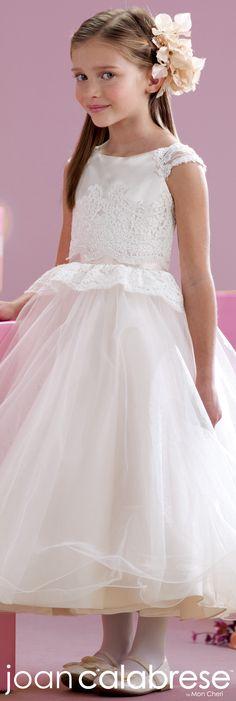 Joan Calabrese for Mon Cheri - Style No. 215342 #flowergirldresses
