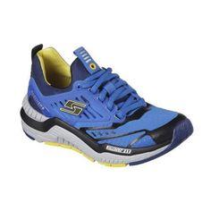 ace09b4d6a5 Skechers HyperJolt Boys Royal Blue Running Shoes Size 4.5 (eBay Link)  Skechers