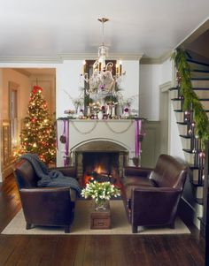 Let It Shine Let It Shine At his Ohio farmhouse, Kevin Reiner mingles fragrant evergreens with glittering vintage ornaments for a display that definitely dazzles.