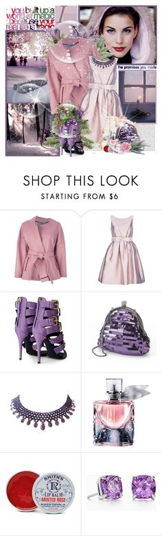 """""At Christmas, all roads lead home."" Marjorie Holmes"" by purplecherryblossom ❤ liked on Polyvore featuring Oris, Albino, P.A.R.O.S.H., Giuseppe Zanotti, Gunne Sax By Jessica McClintock, Marina J., Lancôme, Rosebud Perfume Co., Tiffany & Co. and Monday"