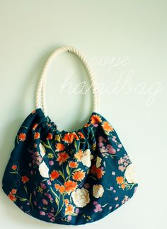 Rope Handbag #howto #tutorial