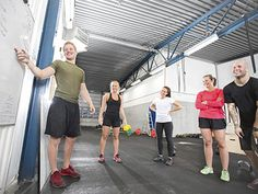 People have strong opinions about CrossFit. STACK Expert Jennifer Britton says many of them are just plain wrong. You Fitness, Fitness Goals, Kettlebell, Crossfit, Basketball Court, People, Strong, Community, Kettle Ball