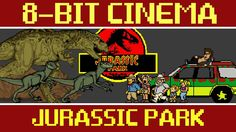 Jurassic Park - 8 Bit Cinema - http://www.dravenstales.ch/jurassic-park-8-bit-cinema/