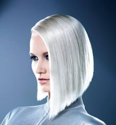 67 ideas for short hair color white bob hairstyles White Blonde Hair, Platinum Blonde Hair, Blonde Color, Hair Color, Bob Hairstyles For Fine Hair, Cool Hairstyles, Medium Hair Styles, Short Hair Styles, Hair Addiction