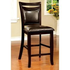 Furniture of America Ridgeway Counter Height Side Dining Chair - IDF-3024PC