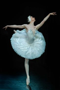 "Yoiness: ""  Tatiana Tkachenko Principal dancer of the Russian Seasons Ballet Soloist of the Mariinsky Theater Swan Lake """
