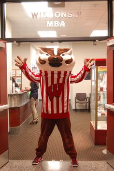 Welcome to the Wisconsin MBA!  This is where my office is located.  Sweet!