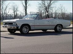 1966 Chevrolet Chevelle SS 396 Convertible
