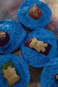 Pool party teddy grahams