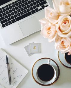 writer's laptop and coffee | Make a coffee and sit down for some recent news and gossip relating to ...