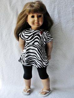 Zebra Leggings Set - (45) Separates