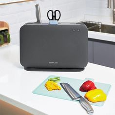 Domestic Appliances, Home Appliances, Electrical Products, Knife Holder, Shape And Form, Keep It Simple, Product Design, Plastic Cutting Board, Cookware