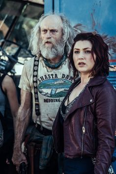 Anastasia Baranova and Russell Hodgkinson in Z Nation Series Movies, Movies And Tv Shows, Tv Series, Anastasia Baranova, Zombie Vampire, Twd Memes, Z Nation, Tv Episodes, In The Flesh
