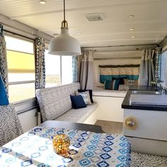 "Pop up camper Ceiling remodel with low watt led lights and vinyl sheet panels | 386 Likes, 27 Comments - Larissa Richardson (@thepopupprincess) on Instagram: ""Every time I see an Apache camper makeover, I seriously consider finding an Apache of my own.…"""
