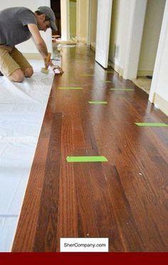 Engineered Hardwood Joint Glue Floor And Oakflooring Laminate Flooring On Stairs Laying Hardwood Floors Hardwood Floors