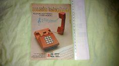 Giocattoli anni 70 MUSIC TELEPHON VIPA Legnaro PD pubblicità/advertising 1979