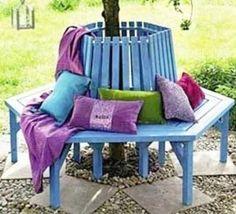 7 Meilleures Images Du Tableau Banc Arbre Tree Bench Bench Around