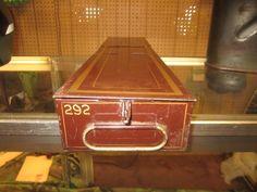 Vintage Bank Safe Deposit Box Storage Industrial Decor