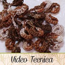 VIDEO TECNICA - HobbyPerline.com - Il negozio per la bigiotteria Fai da Te Photo Pattern, Videos, Flora, Herbs, Crochet, Tutorials, Plants, Herb, Ganchillo