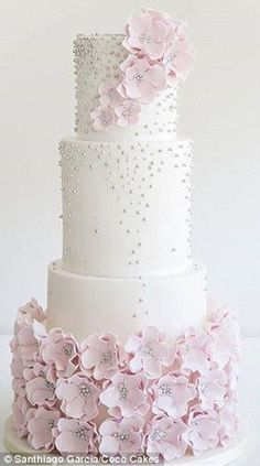 Weddbook is a content discovery engine mostly specialized on wedding concept. You can collect images, videos or articles you discovered organize them, add your own ideas to your collections and share with other people - The new wedding cake trends for 2015 are all about standing out and making a bold statement with Australian cake experts naming hanging, naked and hand-painted #weddingcakes #weddingideas