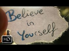 The Best Motivation Video 2015 - BELIEVE IN YOURSELF - YouTube