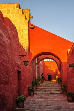 Peru Travel Inspiration - Santa Catalina, Arequipa, Peru http://www.southamericaperutours.com/peru-highlight.html
