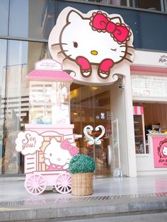 d312fe7c8 Hello Kitty House, Sanrio Hello Kitty, Tokyo Japan, Bangkok, Kitty House,