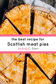 Want to make and eat an amazing Scottish pie? Try this recipe - accent not included. Easy Irish Recipes, Pie Recipes, Cooking Recipes, Russian Recipes, Curry Recipes, German Recipes, French Recipes, Scottish Meat Pie Recipe, Scottish Recipes