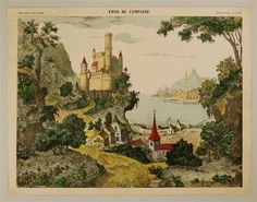 Fond de Campagne. Imagerie d'Épinal, No 1586.