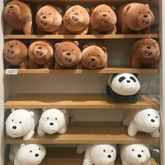 aesthetic we bare bears We Bare Bears, Osos Cartoon Network, Softies, Plushies, Make My Day, Brown Aesthetic, Aesthetic Themes, Kpop Aesthetic, We Bear