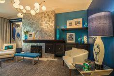Creative Details. Kip Bays Decorators Show House, 2015. Fireplace mantel and storage. Designer: Pavarini Design.