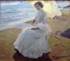 1904, Clotilde en la playa, Joaquín Sorolla y Bastida