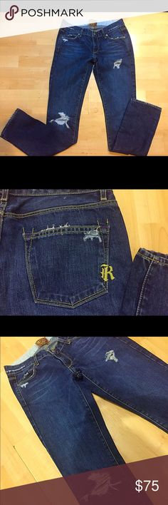 RICH & SKINNY DENIM Fitted JEANS NORDSTROM sz 25 Rich & Skinny medium wash skinny/ fitted straight leg jeans size 25 from Nordstrom in excellent to new condition as you can see. Worn once and ready to ship!! Rich & Skinny Jeans Skinny