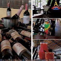 En Angus Brangus puedes disfrutar un menú de bebidas, con variedad de vinos, licores y cócteles. Reservas: 2321632 / www.angusbrangus.com.co .   #nochesmedellín #gastronomía #vinos #cócteles #AngusBrangus