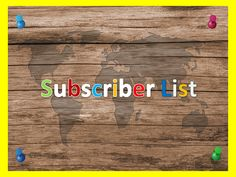 how to build your email subscriber list