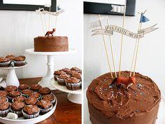 A Fantastic Mr. Fox Birthday Party by Nancy Cho.