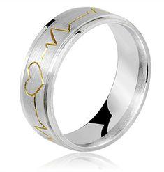 ALIANÇA DE PRATA CARDIAC LOVE #alianzadeplata #aliançadeprata #silverweddingring