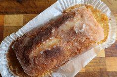 Crunchy lemon drizzle loaf cakes