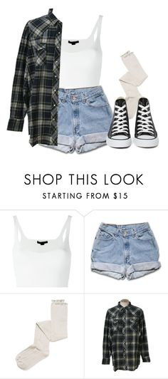 """""""Converse"""" by feathersandroses ❤ liked on Polyvore featuring Alexander Wang, Intimately Free People, Wrangler and Converse"""
