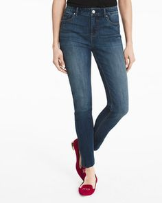 High-Rise Skimmer Jeans White House Black Market - sustainable and fair labor practices