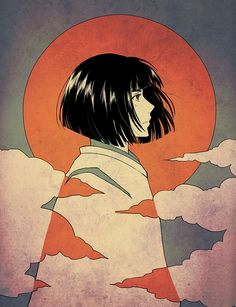 "Haku by baka-ouji.deviantart.com on @deviantART - From Miyazaki's ""Spirited Away""."