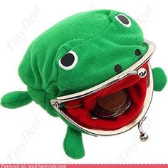 Gama-Chan from Naruto frog wallet  #naruto, #frog, #anime, #wallet, #purse  $1.97