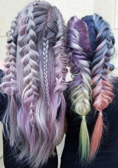 100 Ridiculously Awesome Braided Hairstyles: Pulled-Out Braids