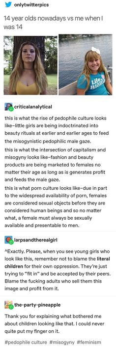 This is true- I dressed like the girl on the left and i was sexualized a lot to the point where I started only wearing baggy t-shirts and sweats so theyd leave me alone Johnlock, Destiel, Equal Rights, Patriarchy, My Tumblr, Faith In Humanity, No Me Importa, Social Issues, Social Justice
