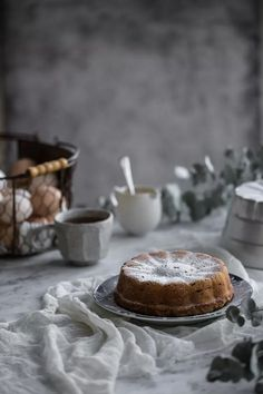 Apple And Almond Cake - Cook Republic - styling photo Apple Recipes, Sweet Recipes, Cake Recipes, Dessert Recipes, Apple And Almond Cake, Almond Cakes, Apple Cake, Cupcake Cakes, Cupcakes