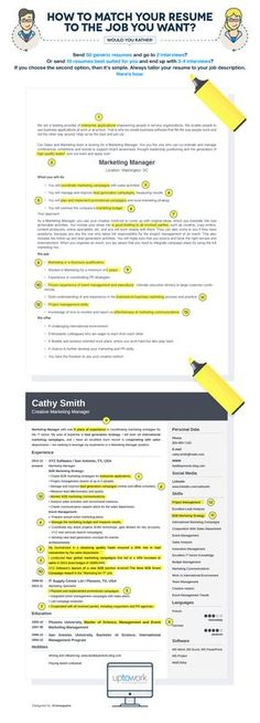 Career infographic & Advice how to tailor your resume to any job posting. Image Description how to tailor your resume to any job posting Job Interview Questions, Job Interview Tips, Job Interviews, Interview Techniques, Resume Help, Resume Tips, Cv Tips, Resume Ideas, Resume Cv